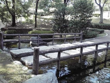 Hachimanyama bridge stone 1528088543