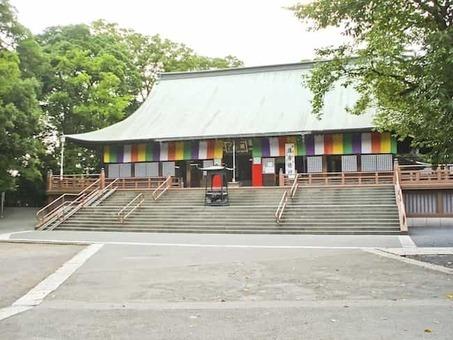 Kawagoe kitain temple main hall 1528088355